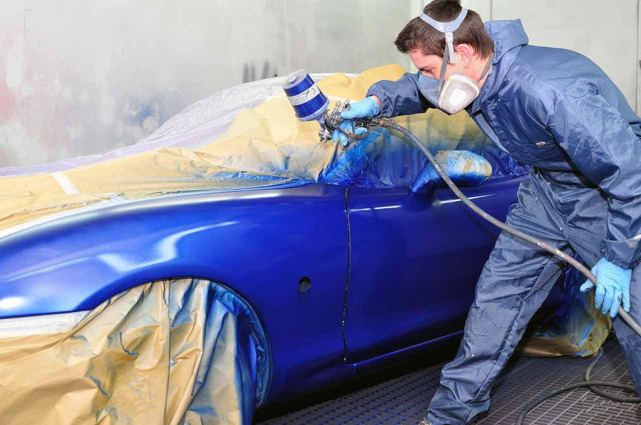 Как локально покрасить автомобиль своими руками